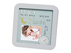 Idea Regalo - Baby Art 34120143 My Birth Day Cornice Personalizzabile