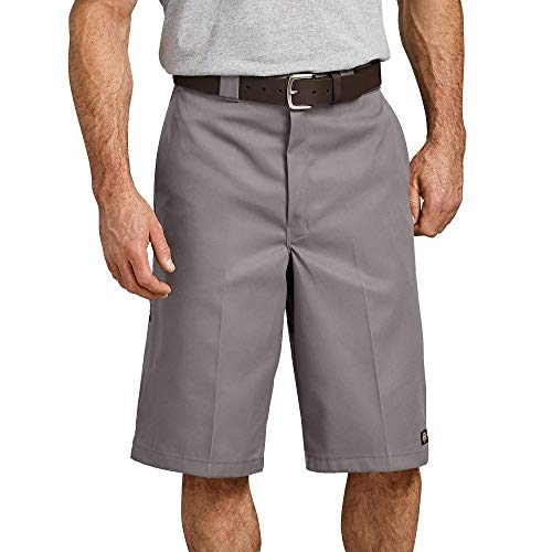 Dickies Herren Shorts 13in Mlt Pkt W/St, Grau (Silver), W40 - Dickies Multi-use Pocket
