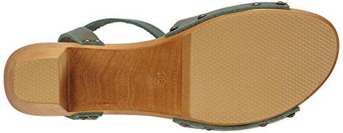Sanita Wood-Yara Flex Sandal 457357-14, Sandales femme Vert - Grün (khaki / 43)