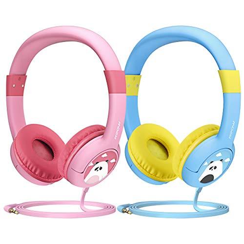 Cuffie per bambini, Mpow CH1 auricolari cablate, Cuffie con limitazione del volume con SharePort e microfono per iPad iPod iPhone...