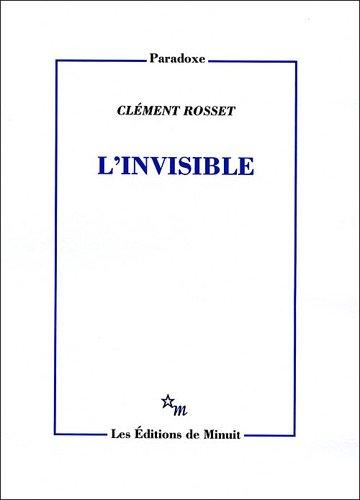 L'Invisible - prix Procope des Lumières 2013