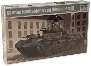 Trumpeter 05528 German Neubaufahrzeug (Rheinmetall) - Tanque en Miniatura (Escala 1:35)
