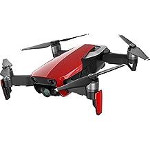 DJI Mavic Air - Drohne mit 4K Full-HD Videokamera inkl. Fernsteuerung I 32 Megapixel Bilderqualität und bis 4 km Reichweite - Rot