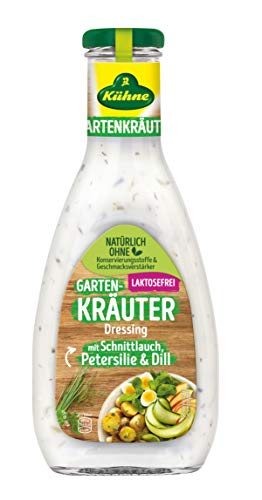 Kühne Gartenkräuter Salat-Dressing  in der Flasche, 500 ml