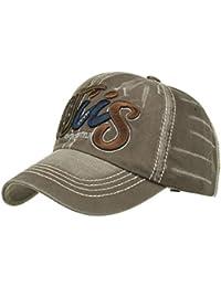 ZARLLE Nuevo Cap-Gorra Bordado Carta De Beisbol Unisex Bordado Gorra De BéIsbol Hip Hop Carta Snapback Adjustable Hat…