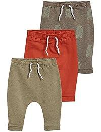 next Bebé-Niños Pack De Tres Pantalones De Chándal (0 Meses - 2 Años)