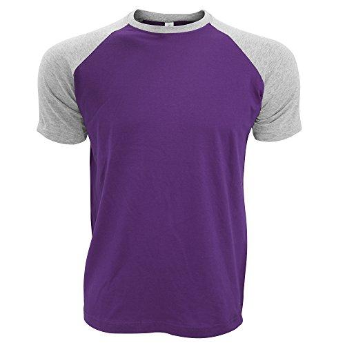SOLS Herren Funky T-Shirt mit Kontrasteinsätzen, Rundhalsausschnitt, Kurzarm Gold/Kellygrün