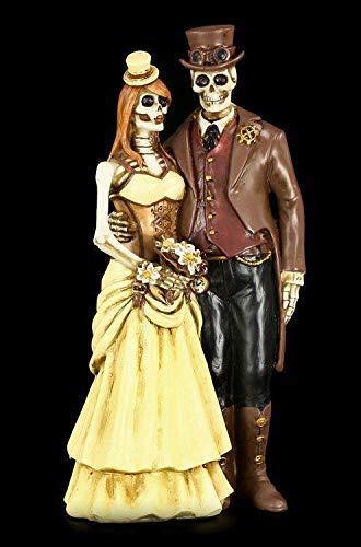 paar Figur - Steampunk - I Do | Dekofigur, Handbemalt ()