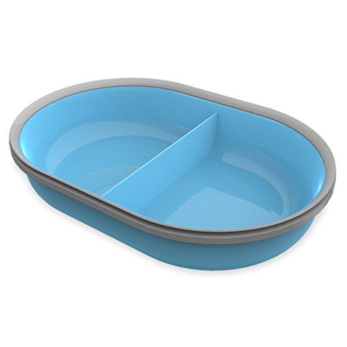 SureFeed Split-Schale für Mikrochip Futterautomat, blau