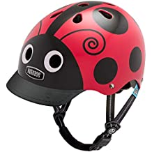 Nutcase - Little Nutty, Casco de bicicleta para niños, Ladybug