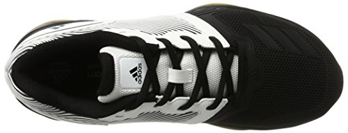 adidas Herren Gym Warrior 2.0 Gymnastikschuhe Mehrfarbig (Ftwr White/core Black/gum)