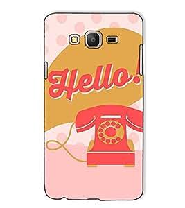 Fuson Designer Back Case Cover for Samsung Galaxy On7 G600Fy :: Samsung Galaxy Wide G600S :: Samsung Galaxy On 7 (2015) (The telephone theme)