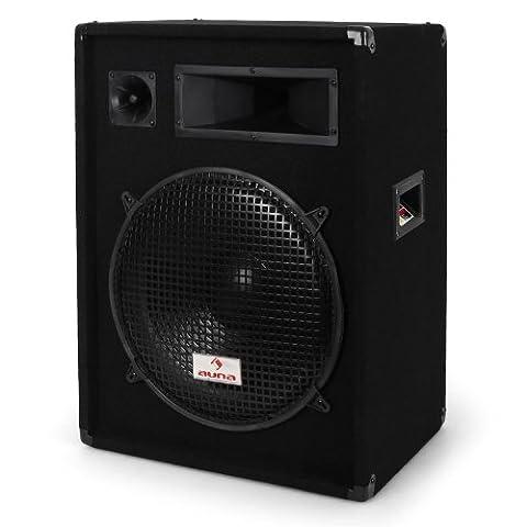Malone PW1522 Enceinte de sono passive haut-parleur DJ (PA 850W
