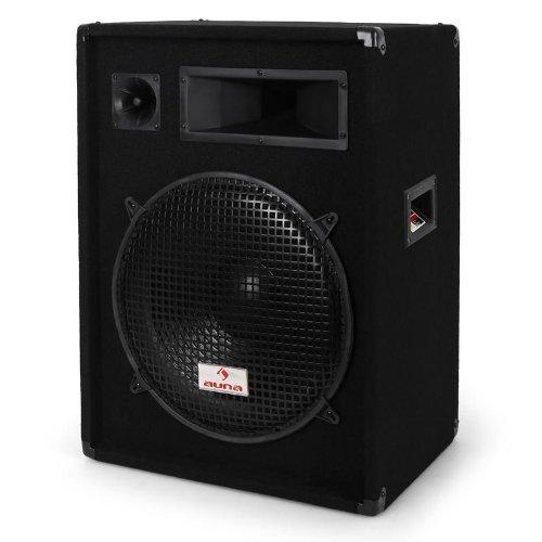 Malone-PW1522-Enceinte-de-sono-passive-haut-parleur-DJ-PA-850W-avec-subwoofer-de-38cm-systme--3-voies-transport-facile-noir