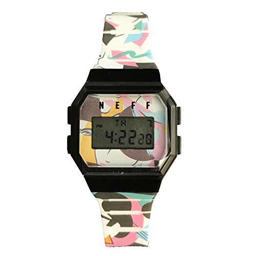 neff Automatic Plastic and Polyurethane Sport WatchMulti Color (Model: GLBKNF0252)