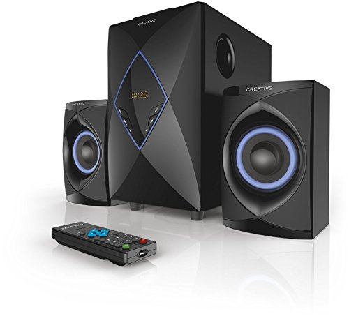 Creative High Performance 2.1 Home Entertainment System (USB Support) - SBS E2800
