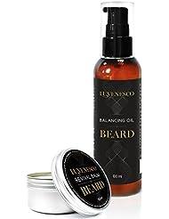 Luvenesco Huile à barbe et Baume pour barbe pour homme | Revitalisant intensif – Adoucissant | Pour les barbes...
