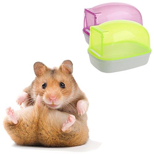 FURU Kleine Pet Badezimmer Sauna Washroom sweathouse Badewanne für Hamster Ratte Maus Eichhörnchen