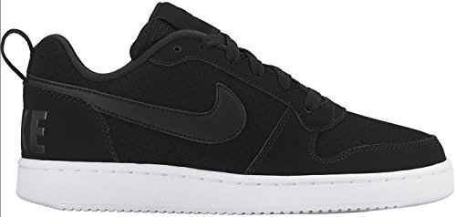 Nike Wmns Court Borough Low, Scarpe da Basket Donna Negro (Negro (black/black-white))