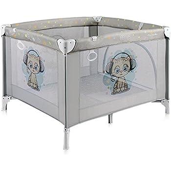 Parc bébé pliant/parc pliable pour bébé PLAY STATION Gris Lorelli