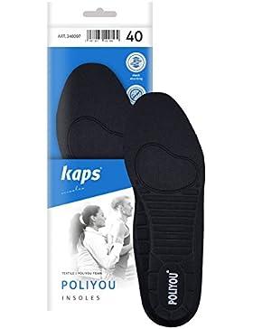 Plantillas Kaps Poliyou–antibacteriano zapato plantillas con forma anatómica, todos los tamaños