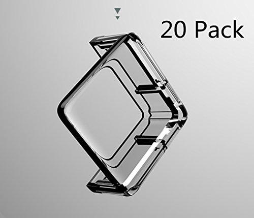 SJHO Baby Transparent Crash Corner - Rechteck Transparent Ecke und Kantenschutz -20 Pack + Tape