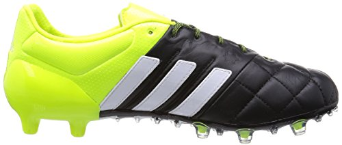 SCARPE CALCIO ADIDAS ACE 15.1 FG LEATHER Black