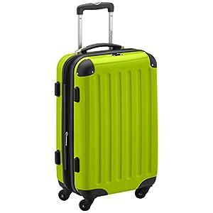HAUPTSTADTKOFFER – Alex – Handgepäck Hartschalen-Koffer Trolley Rollkoffer Reisekoffer Erweiterbar, 4 Rollen, 55 cm, 42…