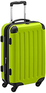 HAUPTSTADTKOFFER - Alex- Carry on luggage On-Board Suitcase Bag Hardside Spinner Trolley 4 Wheel Expandable, 55cm, applegreen (B004WNS89G) | Amazon price tracker / tracking, Amazon price history charts, Amazon price watches, Amazon price drop alerts
