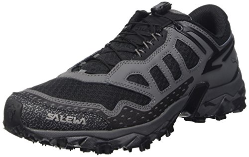 Salewa Ultra Train - Bergschuh Herren, Herren Outdoor Fitnessschuhe, Schwarz (Asphalt/Black 0677), 41 EU (7.5 Herren UK) - Herren Italienische Schuhe Stiefel