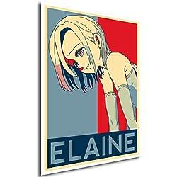 Poster Seven Deadly Sins Elaine - A3 (42x30 cm)