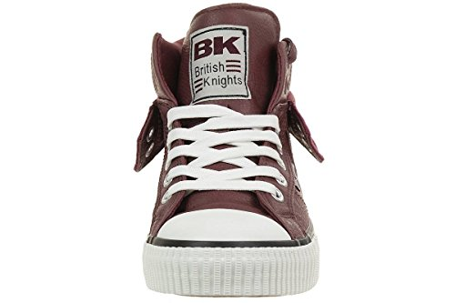 British Knights Roco, Baskets Basses Homme Rouge