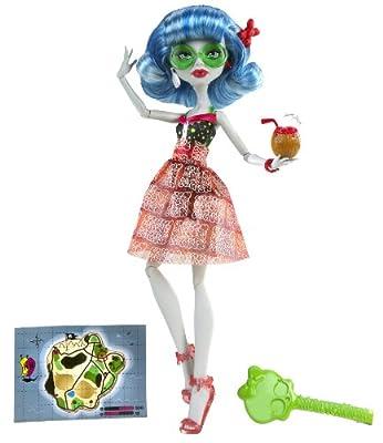 Monster High W9181 - Ghoulia en la playa por Mattel