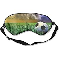 Football On Grass Sleep Eyes Masks - Comfortable Sleeping Mask Eye Cover For Travelling Night Noon Nap Mediation... preisvergleich bei billige-tabletten.eu