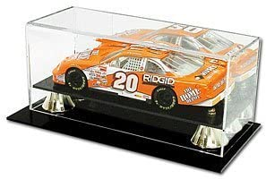 BCW Deluxe Acrylic 1:18 1:18 1:18 Scale Car Display - With Mirror - Die Cast NASCAR, Racing - Sports Memoriablia Display Case - Sportscards Collecting Supplies by BCW 5953ce