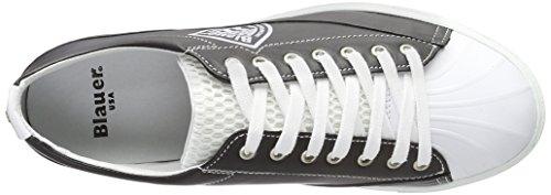 Blauer USA - Cuptoe, Scarpe da ginnastica Uomo Nero (Nero (Black/White))