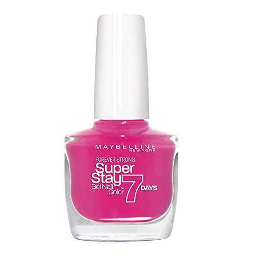 Maybelline New York Superstay 7 Days Smalto Effetto Gel, 155 Bubble Gum