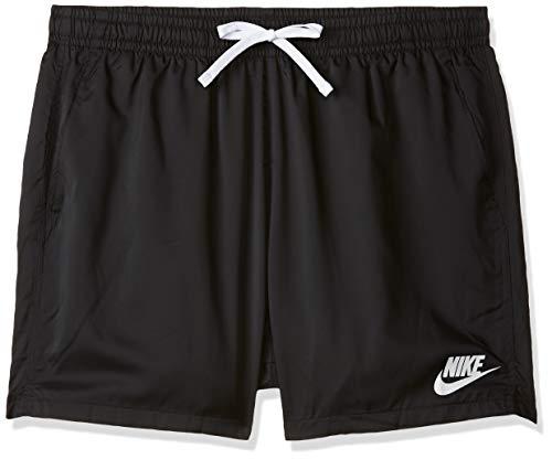 Nike 832230-010 Short de Bain Homme, Noir Blanc, FR : L (Taille Fabricant : L)