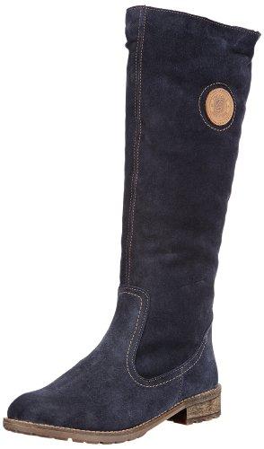 Remonte R3388 - Stivali da Equitazione Donna, Blu (Pilot/Mogano/13), 45 EU