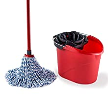 Vileda SuperMocio Microfibre and Cotton Mop and Bucket Set
