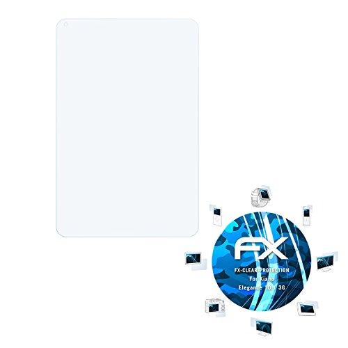 atFolix Schutzfolie kompatibel mit Kiano Elegance 10.1 3G Folie, ultraklare FX Bildschirmschutzfolie (2X)