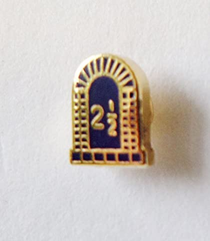 Royal Arch 2 1/2 Tribes Arch-Shaped Orange Order Pin Badge - K025