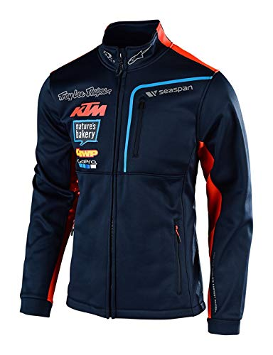 Troy Lee Designs Fleece-Jacke KTM Team Polar Blau Gr. L Design-fleece-jacke