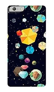 ZAPCASE PRINTED BACK COVER FOR MICROMAX KNIGHT 2 Multicolor