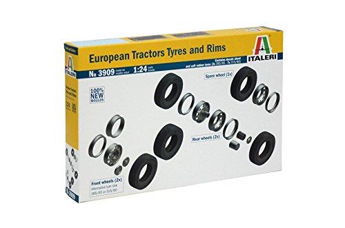 Italeri 510003909 - 1:24 Reifen, Felgen-Set Euro (7+7)
