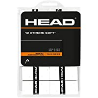 Head Xtreme Soft 12 Over Grip, Color Blanco, One Size