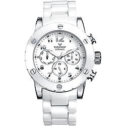 Uhr Viceroy Ceramica Y Zafiro 47632-05 Damen Weiß