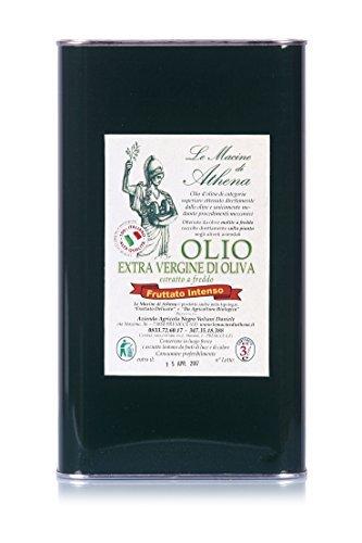 Italienishen Natives Olivenöl Extra von Le Macine di Athena - Intensiv Fruchtig - 1er Pack (1 x 3 l)