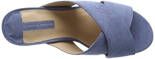 Dorothy Perkins - Sam Cross Over, Scarpe spuntate Donna Blue (Blue)