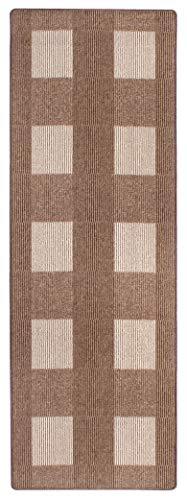 andiamo, Teppich Flachgewebe Dalia strapazierfähig, schadstoffgeprüft 67 x 200 cm beige